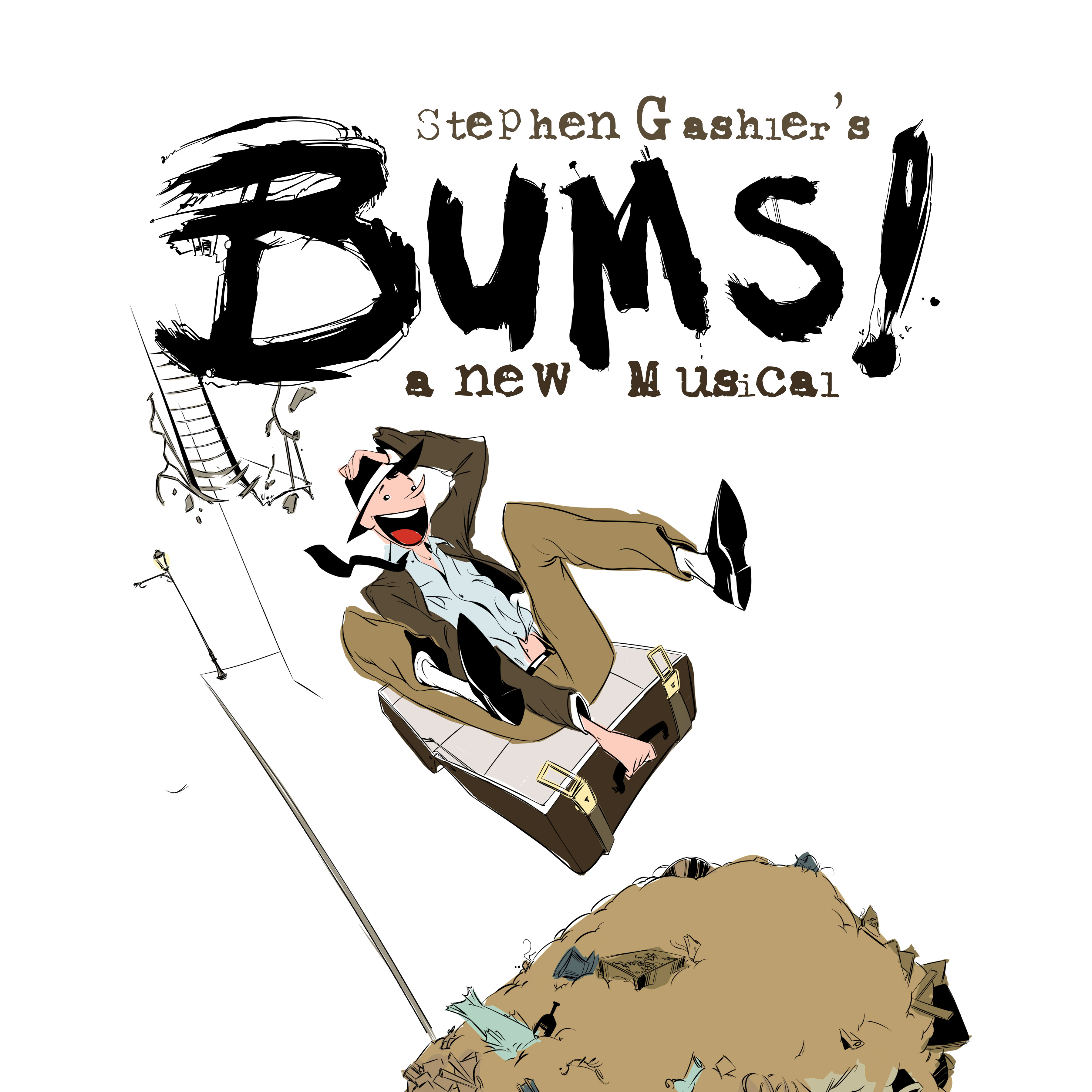 BUMS! a new musical by Stephen Gashler